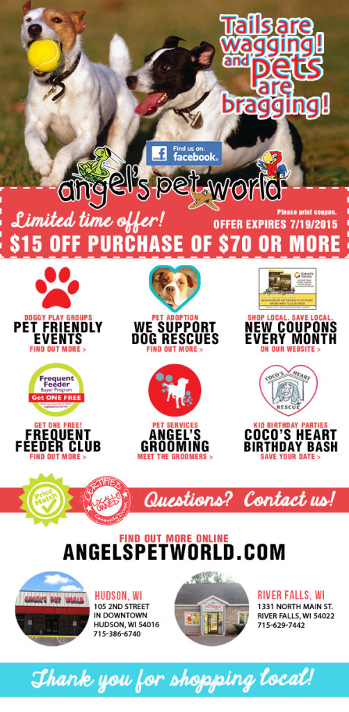 AngelsPetWorld_DogFood_Hudson_WI